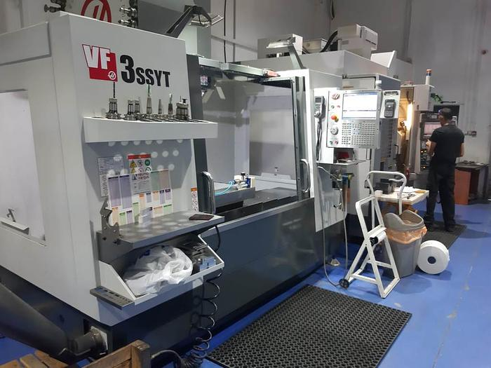 2017 HAAS VF-3SS-YT in Livonia, Michigan Haas Chip Conveyor Wiring Diagram on