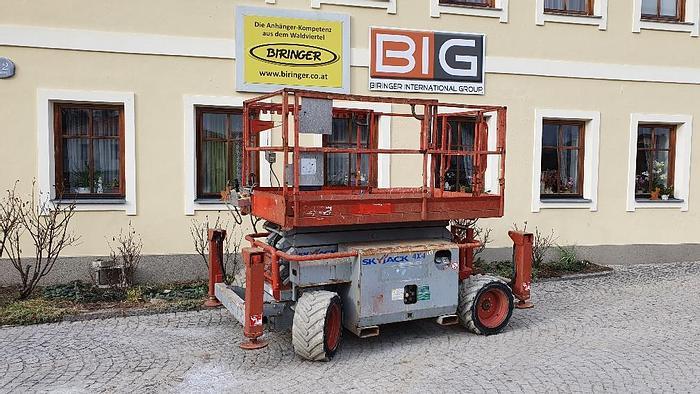 Gebraucht Skyjack SJ6832 RT 4x4 Scherenbühne