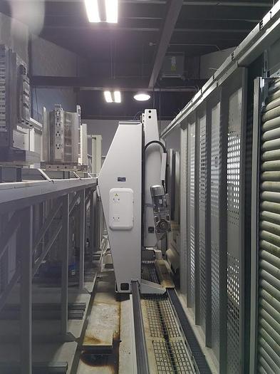 2014 Okuma MB-5000H (2) with 20 Pallet FMS system