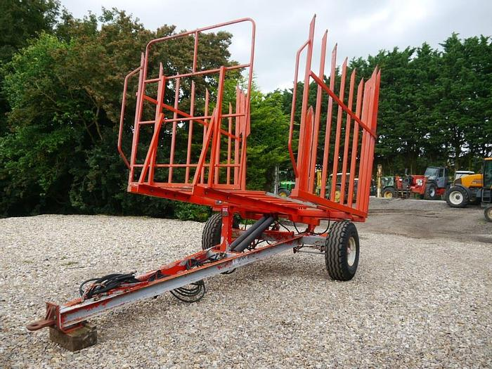 Used Browns Bale Trailer