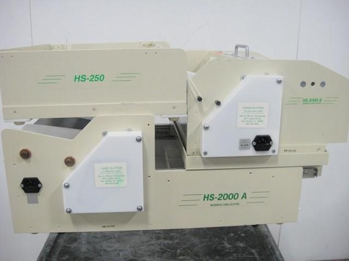 Used RB Sun HS2000A/HS-250 Business Card Slitter