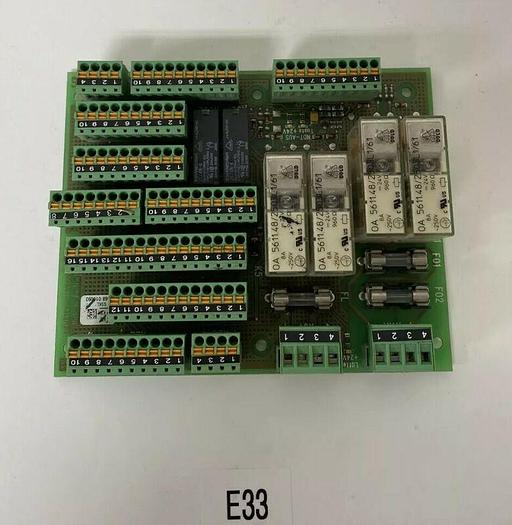 Used Preowned Sigmatek Circuit Board 0207.537.00 Fast Shipping Warranty
