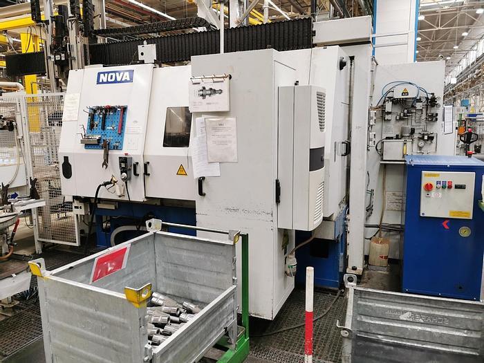 Gebraucht CNC Aussen- und Innenrundschleifmaschine  NOVA M12 T CNC - D