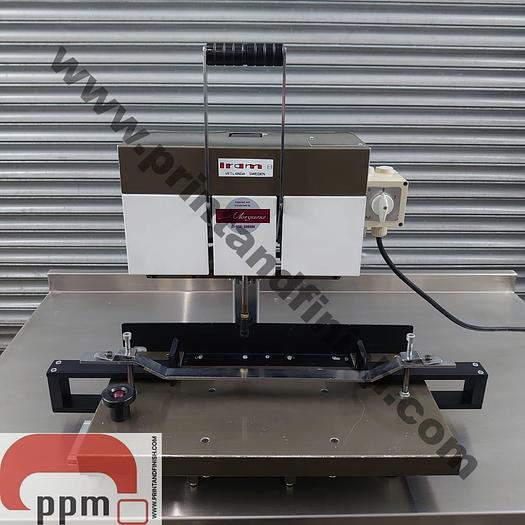 Used IRAM 8 Single Head Table Top Paper Drill