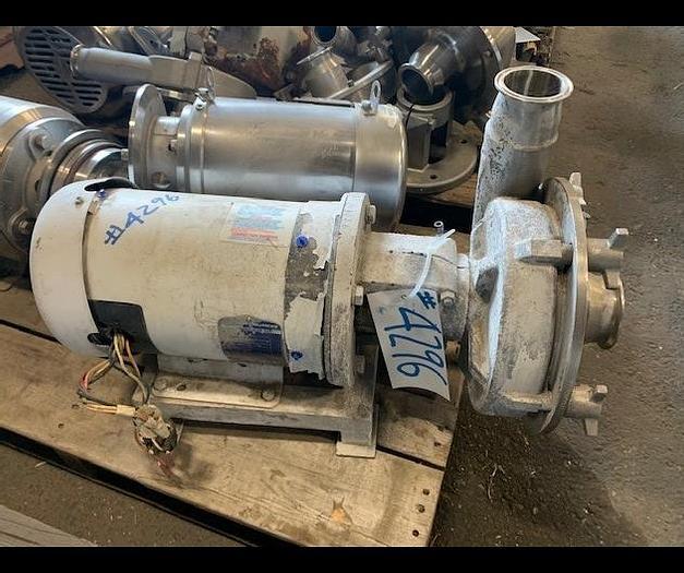 "Used Fristam 3"" x 2.5"" Centrifugal Pump Model FPX 35419"