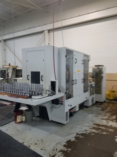 2017 LIEBHERR  LC-180 CNC GEAR HOBBER WITH STOCKER TABLE
