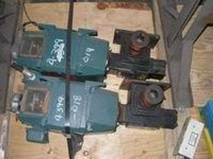 Used Reliance DC motor w/right angle gear box, 1.5HP, 200V