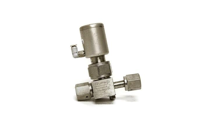 Used Nupro SS-BNV51-C High Purity Bellows Sealed Valve (5175)