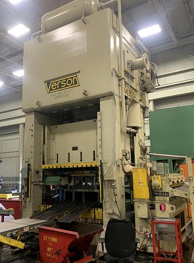 "800 ton Verson 84""x72"" Used Stamping Press"