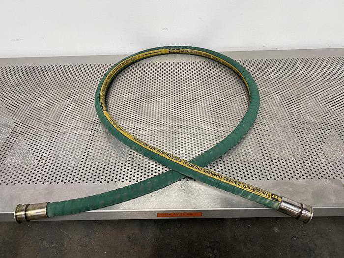 "Used Parker 108"" x 1 1/2"" Wildcatter SWC693 UHMWPE Chemical Suction Hose 250 PSI"