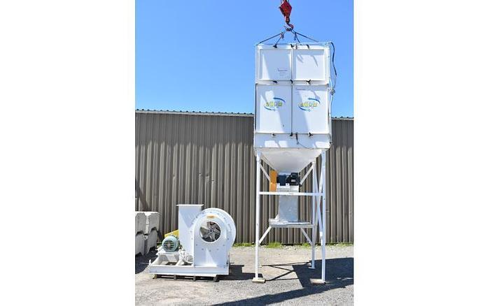 Used USED DUST COLLECTOR, PULSE AIR, 4,500 CFM, CARTRIDGE
