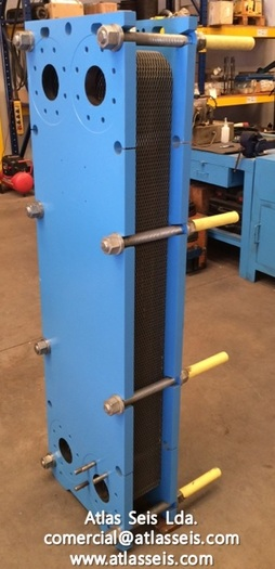 Used Vicarb Heat Exchanger V45