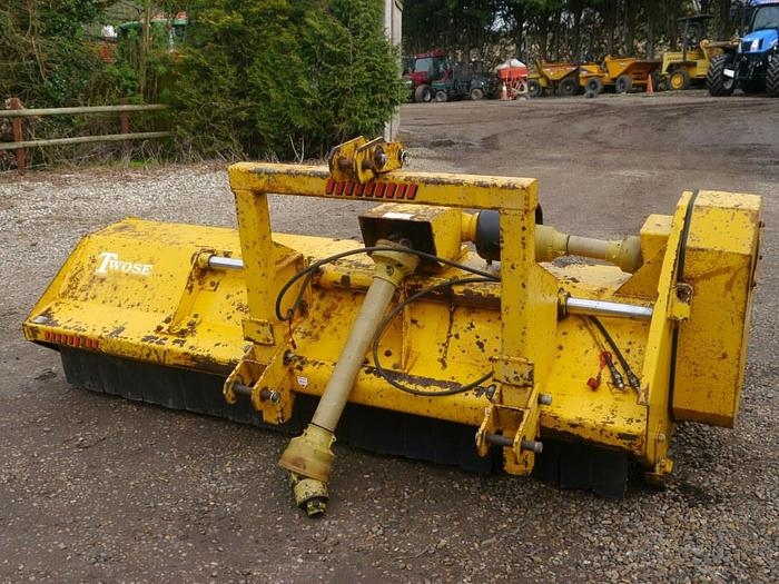 Used Twose Flail Mower
