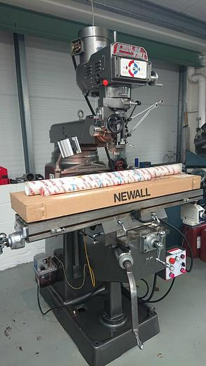 Used EuroMill 3VS Turret Milling Machine