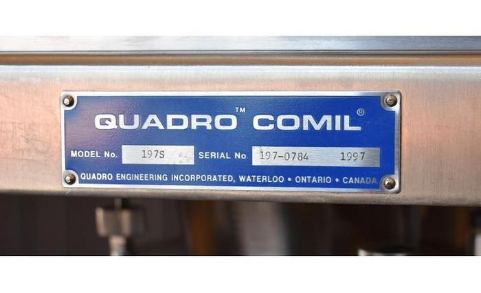 USED QUADRO COMIL, MODEL 197S, STAINLESS STEEL, SANITARY