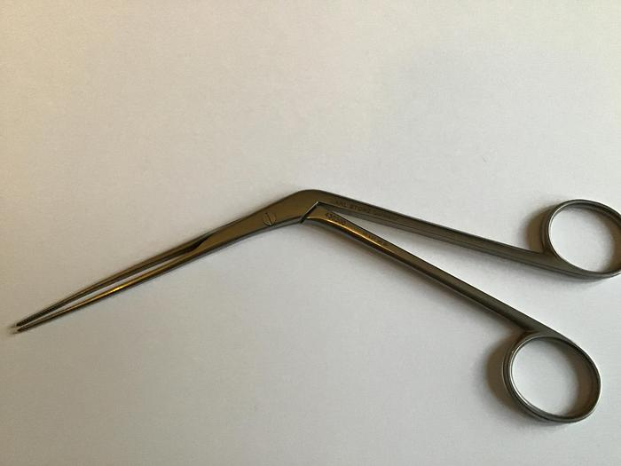 STORZ Forceps Nasal Dressing Lubet Barbon Serrated 105mm to Shaft 430300