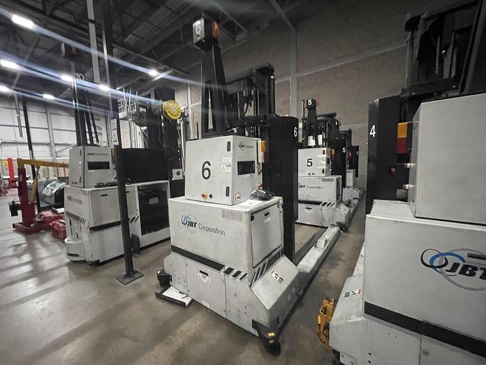Used FMC SGV2000 Straddle Automated Forklift