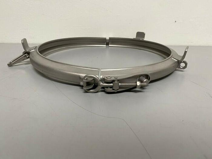 "Used Stainless Steel Heavy Duty Double Pin 12"" Clamp"