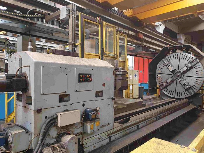 TORNIO PARALLELO A TRE GUIDE SAFOP LEONARD 70-1000 CNC