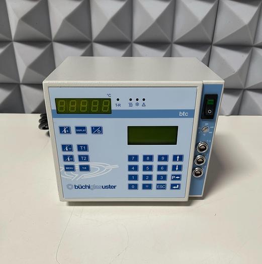 Used Buchiglasuster btc PID Reactor Temperature Controller