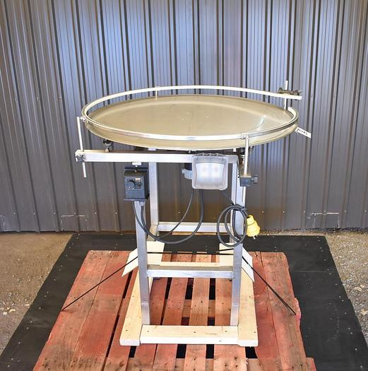 Used USED 36'' ACCUMULATION TABLE, STAINLESS STEEL, VARIABLE SPEED