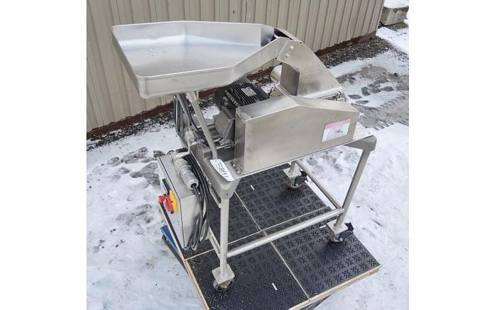 USED FITZ MILL, MODEL D6, SWINGING KNIVES, STAINLESS STEEL, SANITARY, VARIABLE SPEED