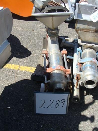 Used Moyno Progressive Cavity Pump With 4'' pipe infeed with hopper