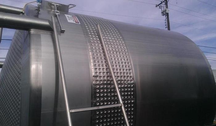 Used FELDMEIER 6000 GALLON TANK WITH AGITATION