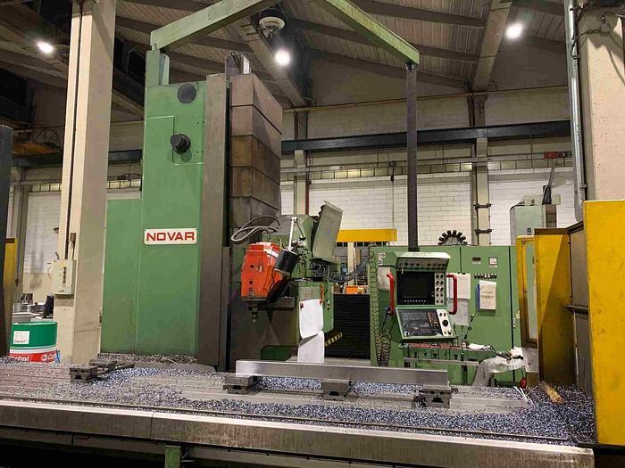 FRESATRICE A BANCO FISSO NOVAR KBF 4000 x 1000 CNC