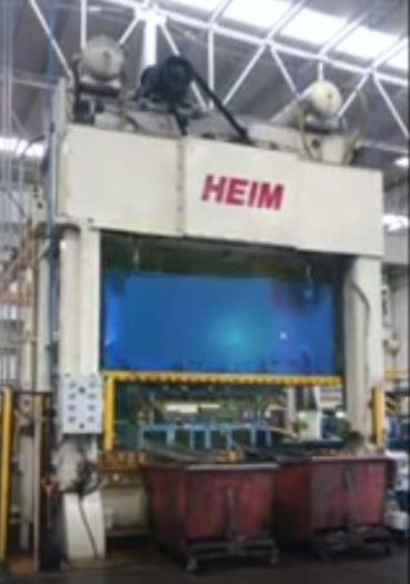 1000 ton Heim Link-Drive SSDC Press
