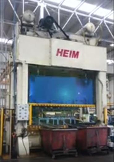 Used 1000 ton Heim Link-Drive SSDC Press