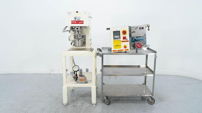 Used 1 PINT ROSS DOUBLE PLANETARY MIXER – S/S – VACUUM (#9768)
