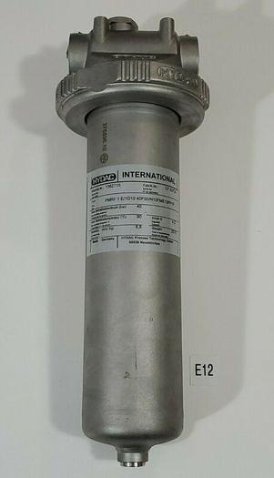 Used *PREOWNED* Hydac 1362715 Hydraulic Inline Filter PMRF 1 E/1D1040F00/N1