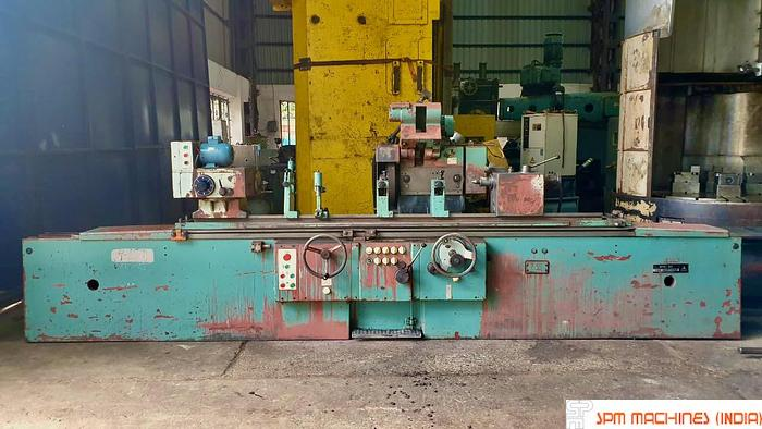 Used TOS BHU50 x 2000 Cylindrical Grinder