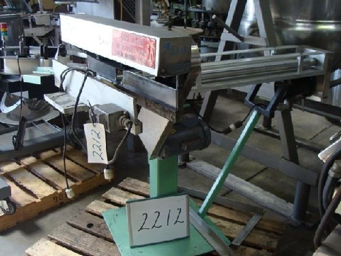 Used Holmatic Model PH-31 Overcapper,