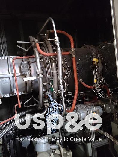 Used 22 MW 2007 Used Solar Taurus T60 Natural Gas Generator