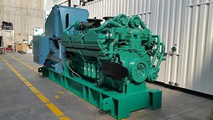 2.25 MW 2018 New Cummins QSK78G9 Diesel Generator
