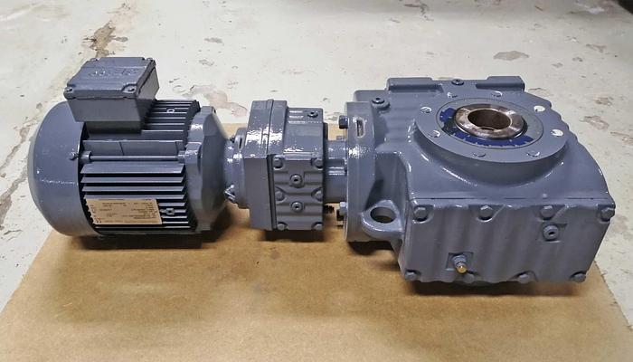 SEW Gear motor electric motor three-phase SEW Eurodrive SEW Eurodrive SA 77 R 37