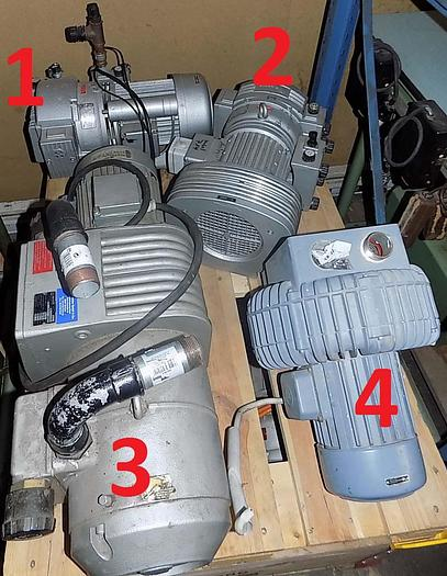 - verschiedene Kompressoren