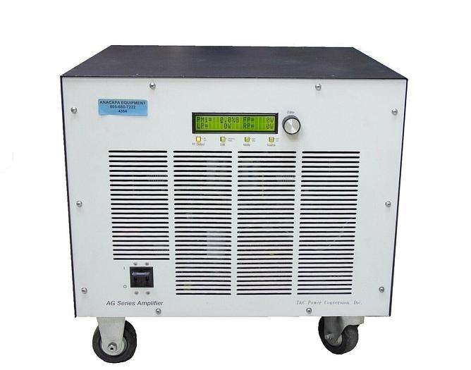 Used T&C Power Conversion AG1024 Low / Radio Frequency LF RF Generator 2000W (4354)R