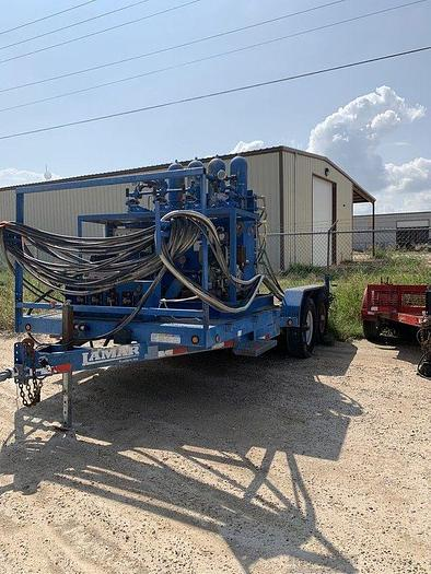 Used Trailer Mounted Closing Unit