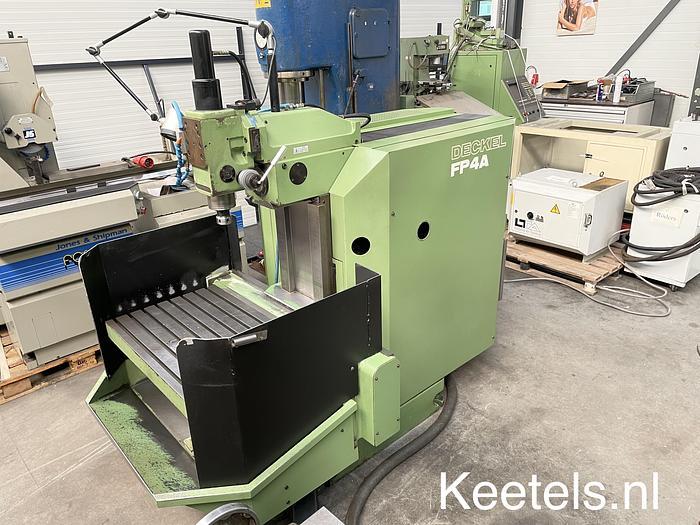 Used Deckel FP-4A CNC freesmachine