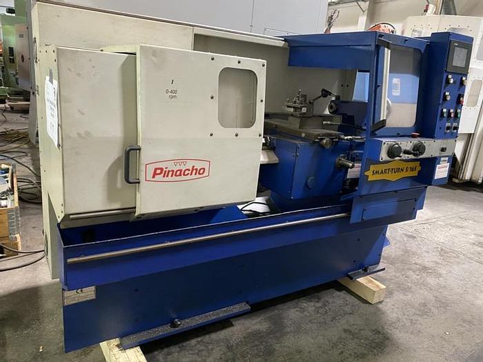 Gebraucht CNC Zyklengesteuerte Drehmaschine PINACHO SmartTurn 5/165