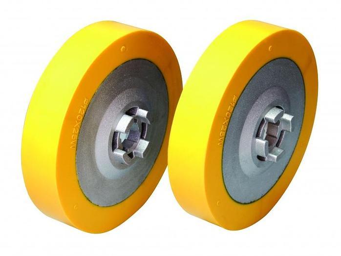 "DC Feeder Wheel Set - 4-3/4"" x 1"""
