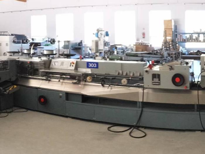 Used Brehmer ST 300 Stitching machine (1997)