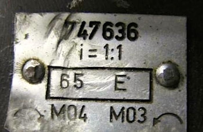 Werkzeughalter TRAUB 747636 angetr. WZ VDI 25  TNL