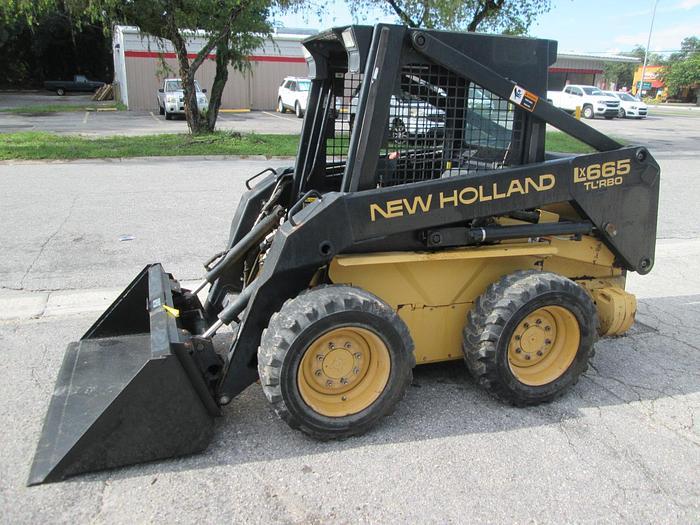 Used 1996 New Holland LX 665 Turbo Skid Steer