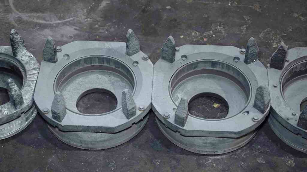 Wagstaff MaxiCast Aluminum Log Casting Molds: MC-422.2