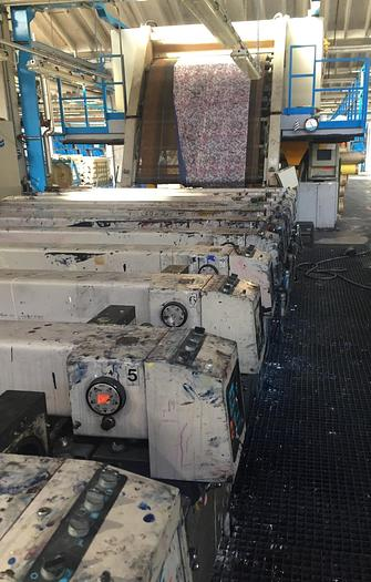 Used ROTARY PRINTING MACHINE REGGIANI  REVOLUTION