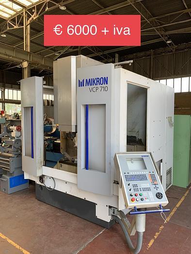 Da sistemare Centro di Lavoro Verticale MIKRON VCP 710